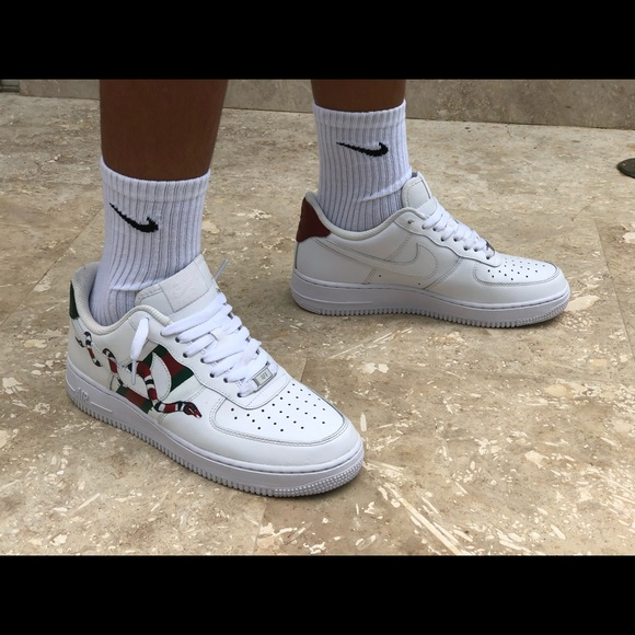 Nike Shoes Air Force 1 Gucci Custom Poshmark